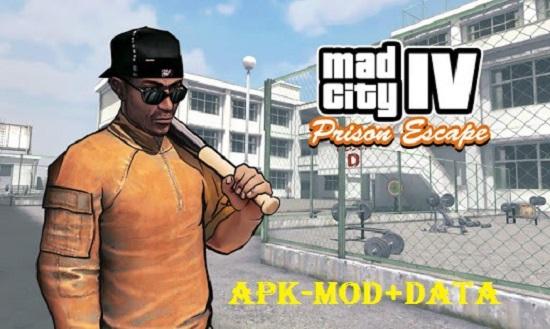 Mad City IV Prison Escape Mod Apk Money Download