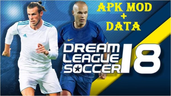 DLS 18 - Dream League Soccer 2018 Apk Mod Data Download