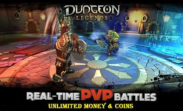 Dungeon Legends MOD APK Unlimited Money Coins Gem Download