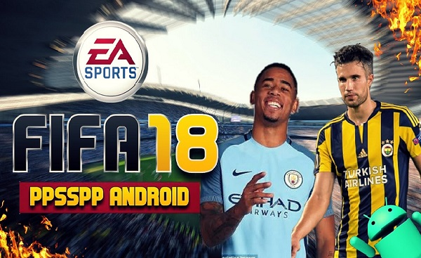 FIFA 18 iSO PPSSPP Android Download