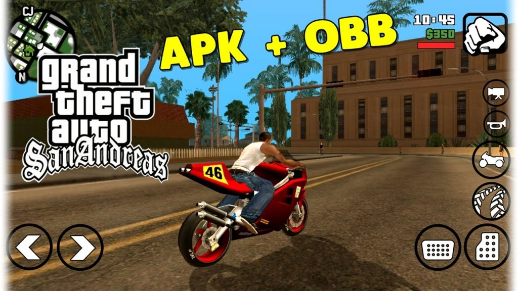 GTA SA Lite Android Mod Apk Obb Data Download