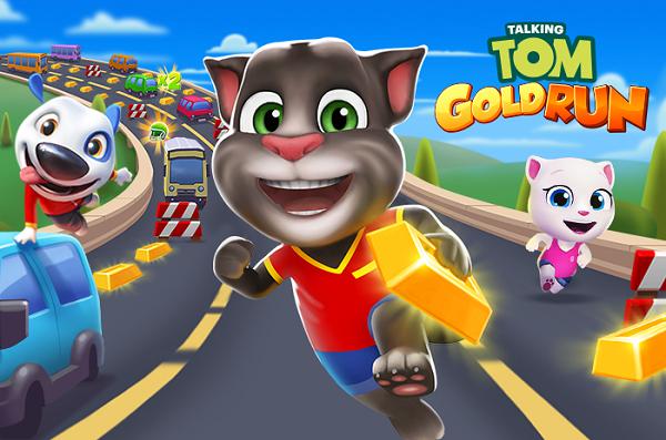 Talking Tom Gold Run Mod Apk Download