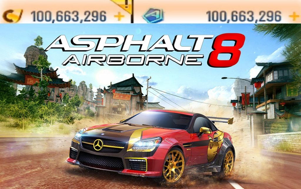 Asphalt 8 Airborne Mod Apk Unlocked Money Cars Download