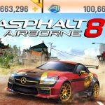 Asphalt 8 Airborne Mod Apk Unlocked Money Cars Download