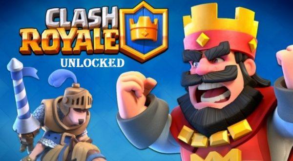 Clash Royale Mod Apk Unlocked Download