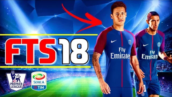 FTS 18 Updated With Neymar at the PSG Apk Mod Download
