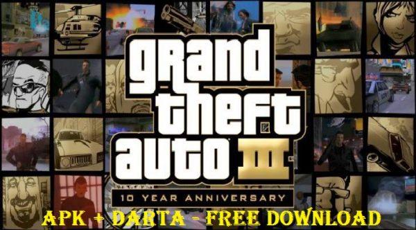 GTA 3 Apk Data Download