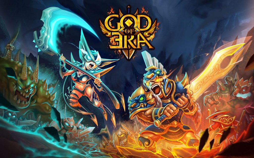 God of Era Epic Heroes War (GoE) Mod Apk Download