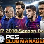 PES Club Manager 2018 APK OBB Android Game Download