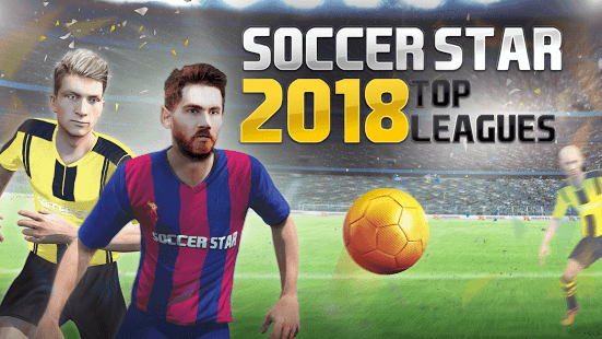 Soccer Star 2018 Top Leagues Mod Apk Unlimited Money Download