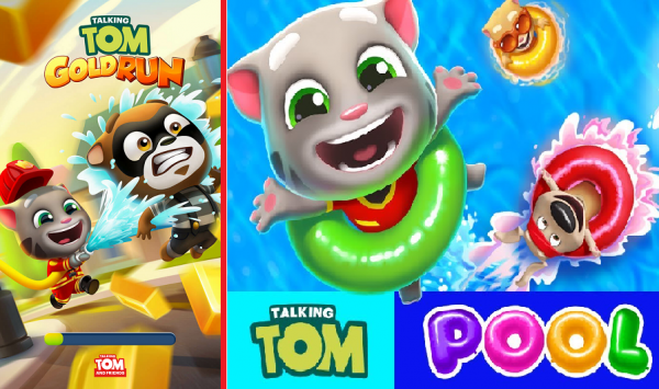 Talking Tom Gold & Pool Apk Mod Download