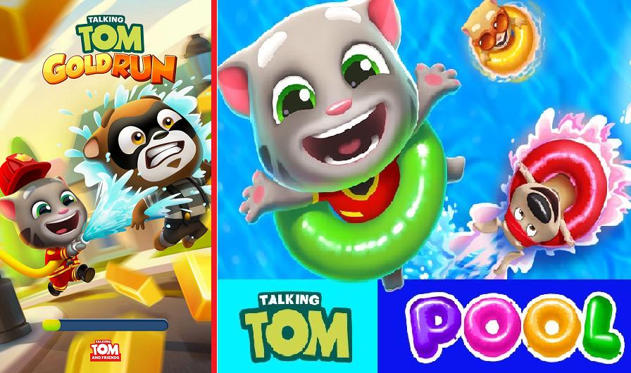 Talking Tom Gold & Pool Apk Mod Download