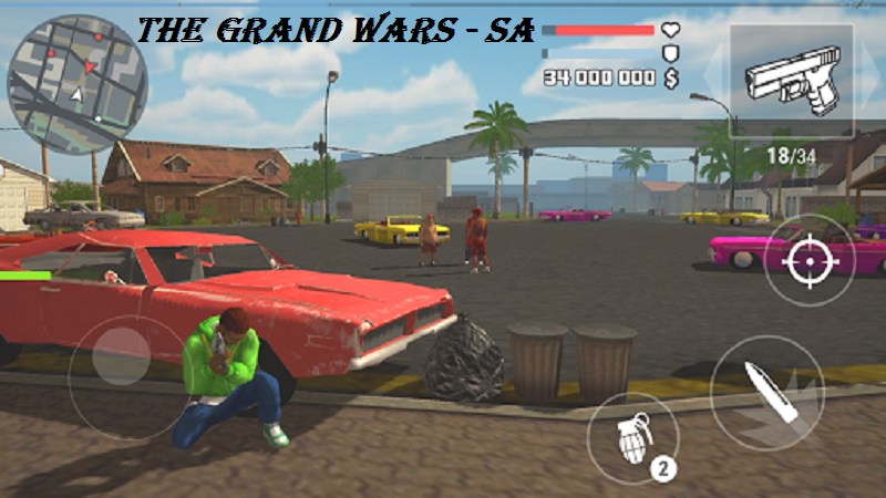 The Grand Wars San Andreas Mod Apk Download