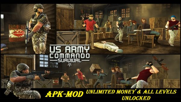 US Army Commando Survival FPS Shooter MOD APK Download
