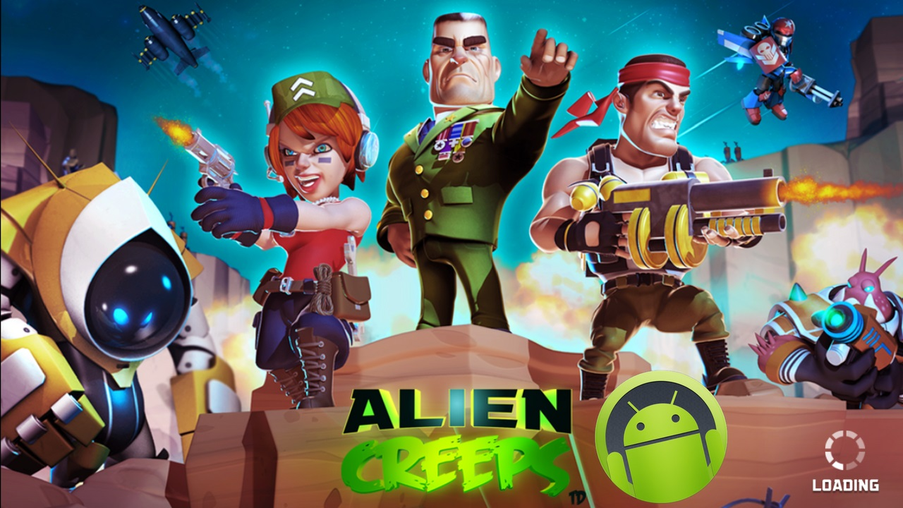 Alien Creeps TD Mod Apk Unlimited Money Download
