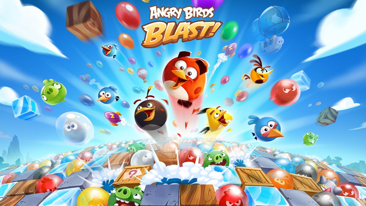 Angry Birds Blast Apk MOD Unlimited Lives and Moves Download