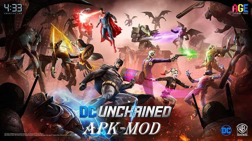 DC Unchained APK MOD Android Download