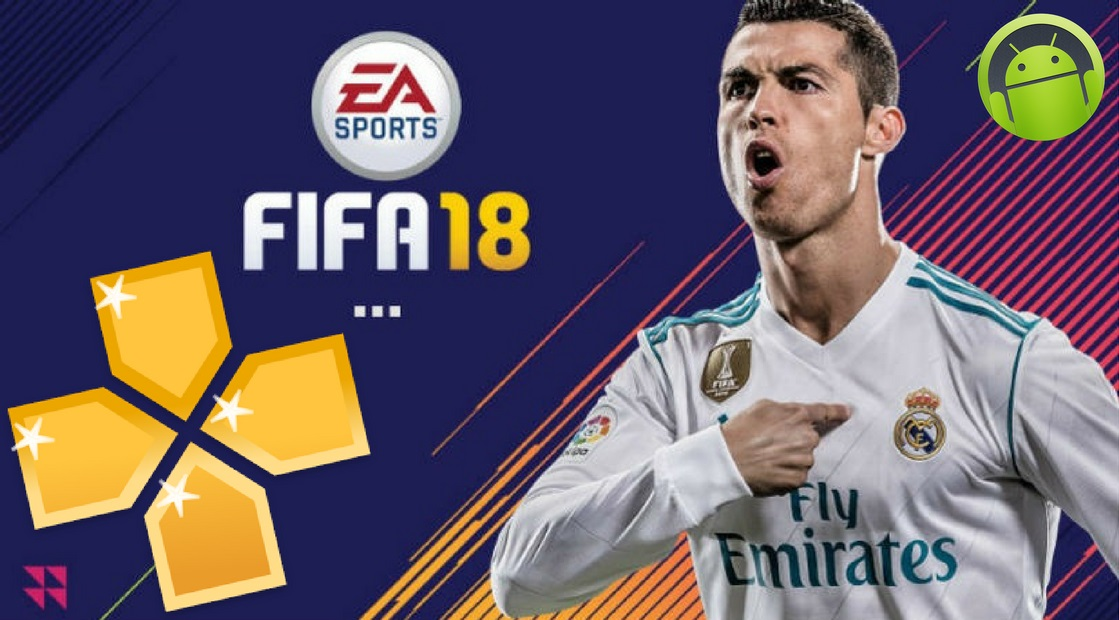 FIFA 18 Offline PPSSPP for Android