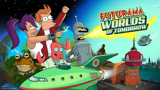 Futurama Worlds of Tomorrow MOD APK Unlimited Money Download