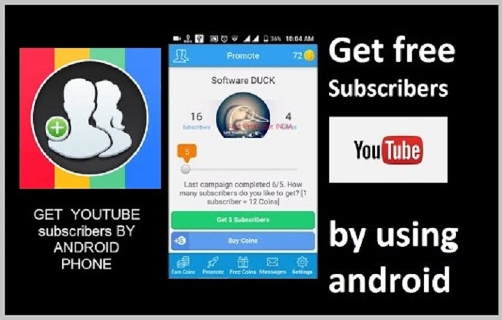 Get Subscribers Free YouTube Subscribers Coins for Android