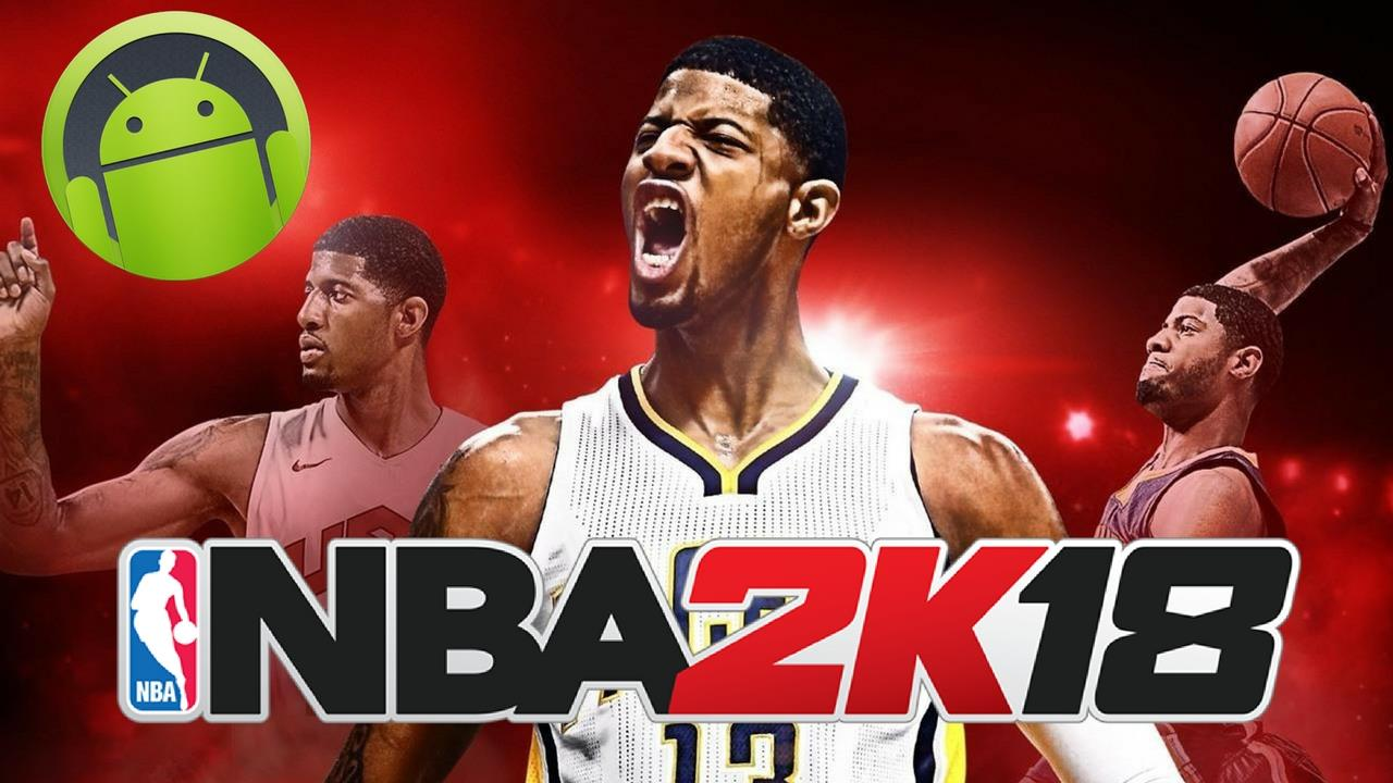NBA 2K18 Apk Mod Android Game Download