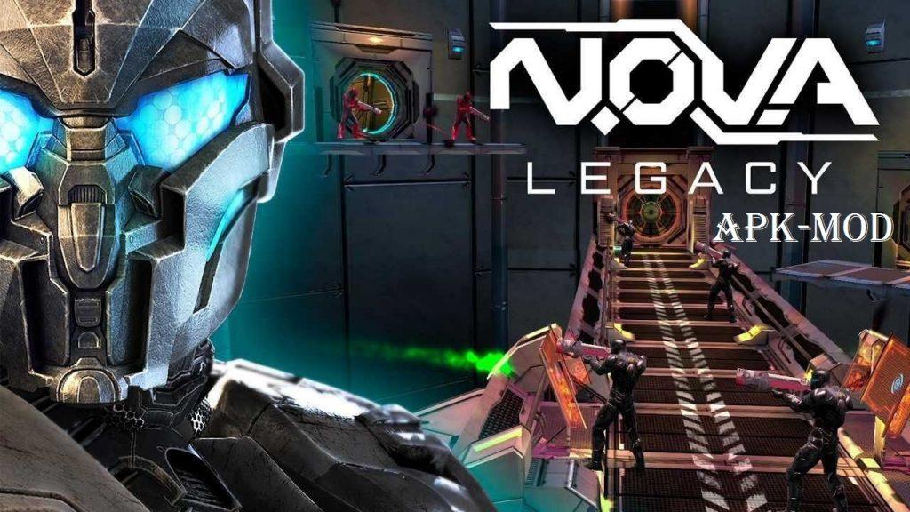 NOVA Legacy APK MOD Offline Unlimited Money Download