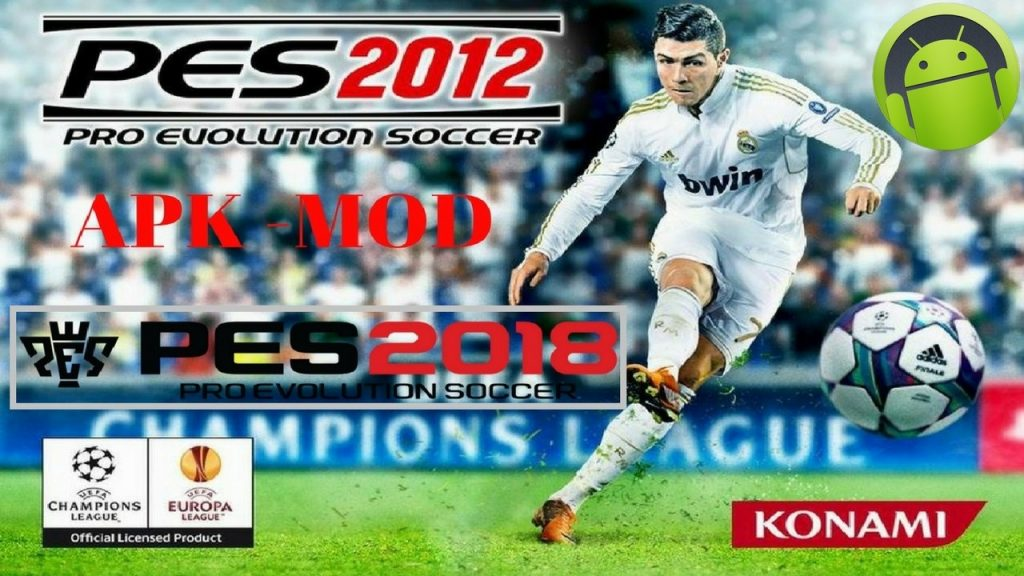 PES 2012 Mod PES 2018 Apk Data Full Download