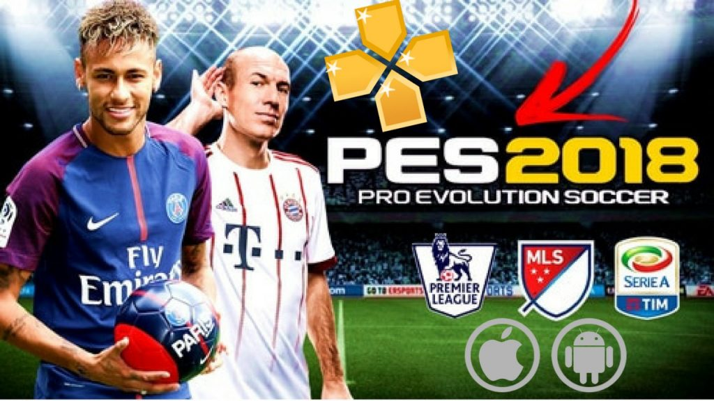 PES 2018 PPSSPP Mod Neymar in PSG Android and iOS Download
