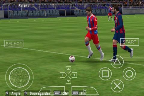 PES 2015 PPSSPP for Android Download