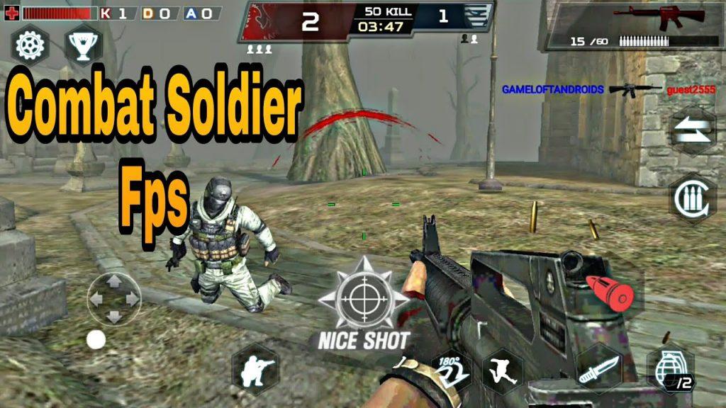 Combat Soldier FPS Mod Apk Data Download