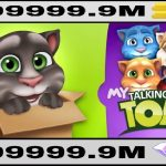 My Talking Tom MOD APK Unlimited Coins Download