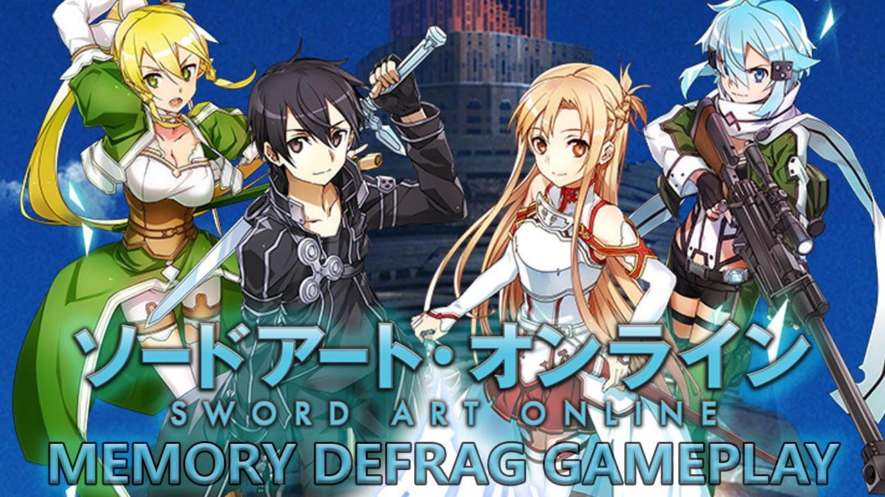 Sword Art Online Memory Defrag Mod Apk Download