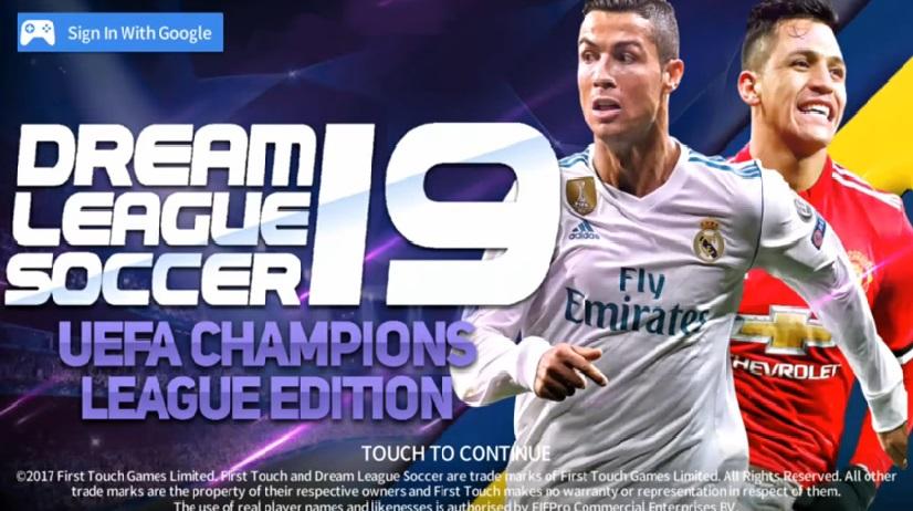 DLS 2019 Mod UEFA Champions League Apk Data Download