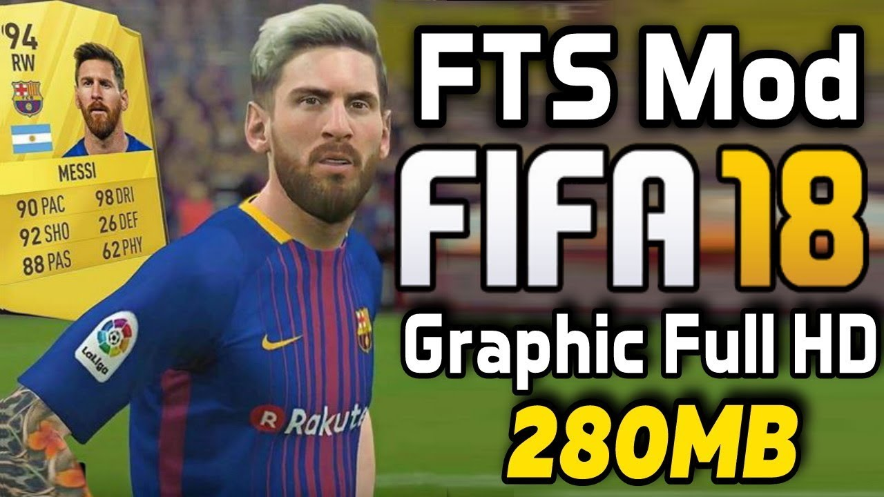 FTS Mod FIFA 18 Apk Data Download