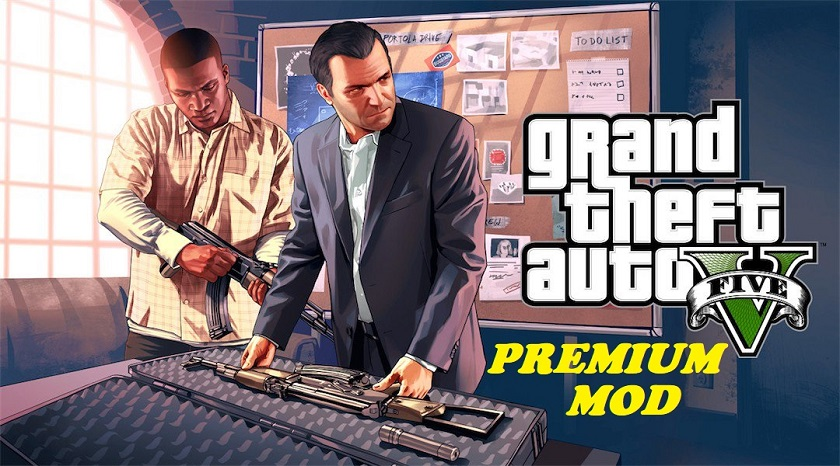 GTA 5 Premium Mod Ultra Realistic 2K18 on Android