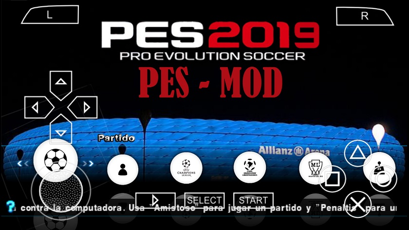 PES 2019 Mod on Android and iPhone iOS