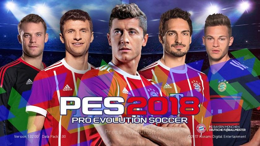 PES Mobile 2018 Mod Bayern Munchen Apk Data Download