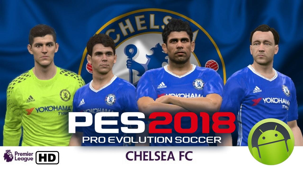 PES Mobile 2018 Mod Chelsea Apk Data Obb Download