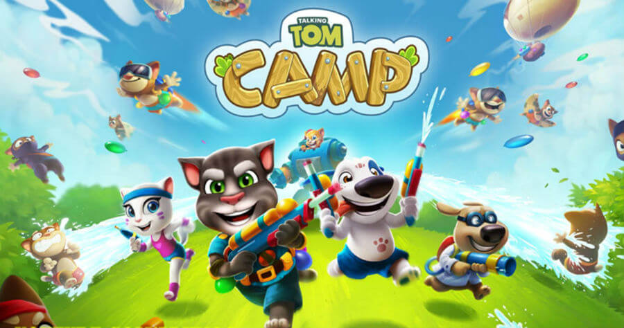 Talking Tom Camp Android APK Mod Download