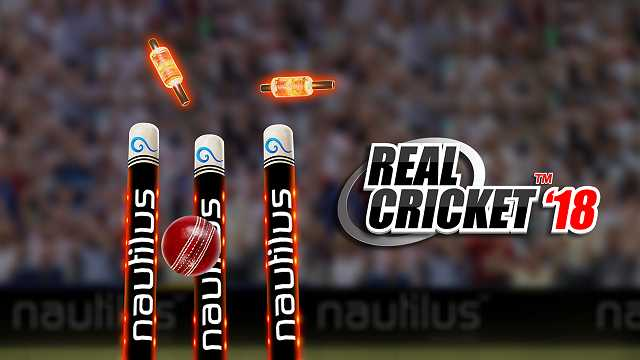 Real Cricket 18 MOD APK Unlimited Money Download