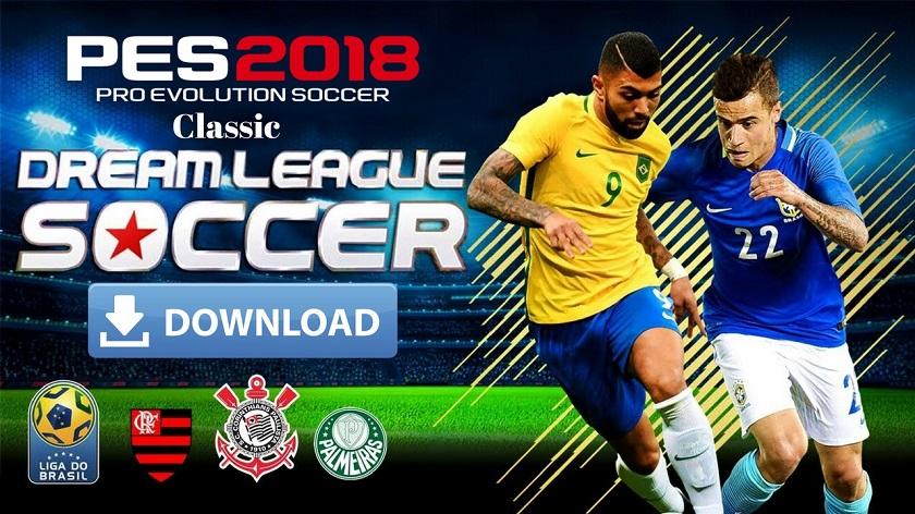 DLS Classic Mod PES 2018 Apk Data Download