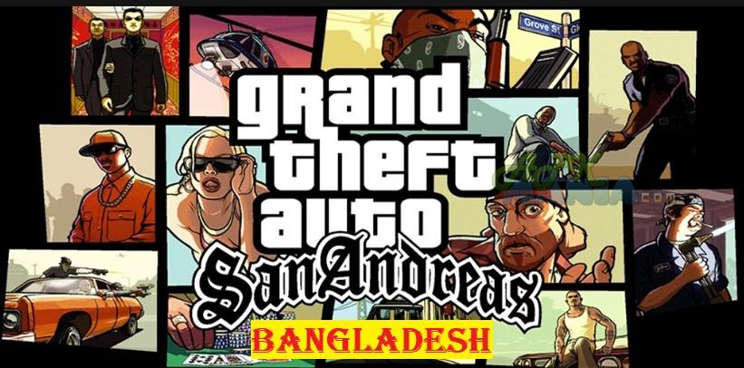 GTA San Andreas Bangladesh Mod Apk Data Download