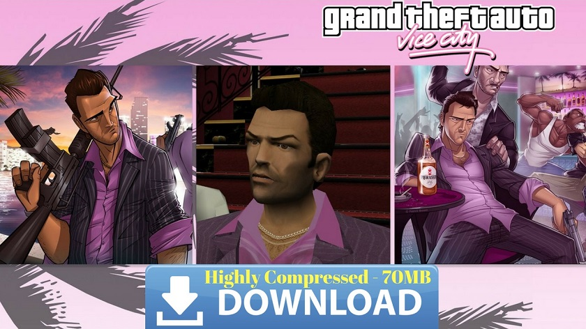 GTA Vice City Apk Data Highly Compressed Download