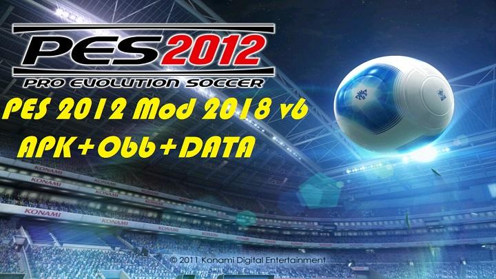 PES 2012 Mod 2018 Apk Data Download