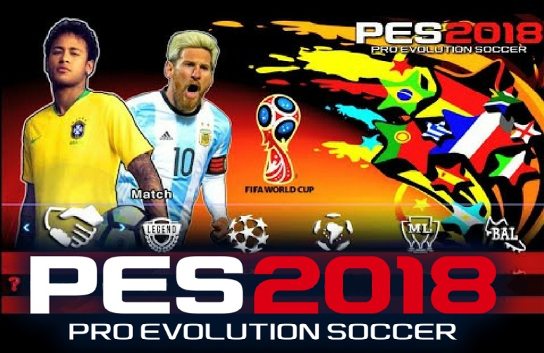 PES 2018 Mod World Cup Russia for Android and iPhone Download