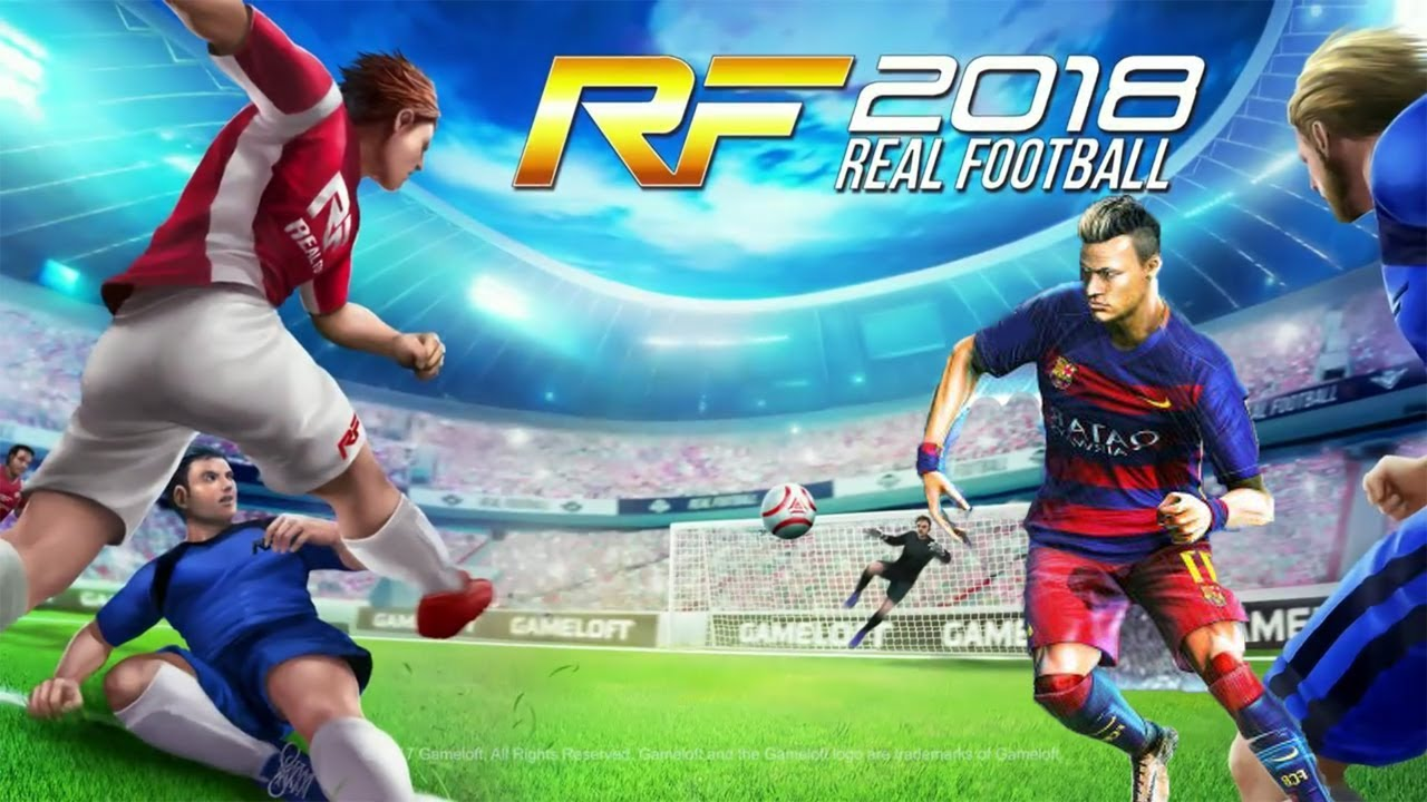 Download Game real football 2018 java Jar Dedomil net