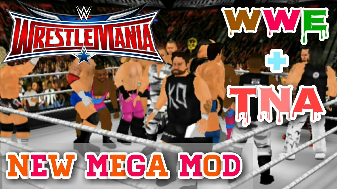 Wrestling Revolution 3D Android Mod Game Download