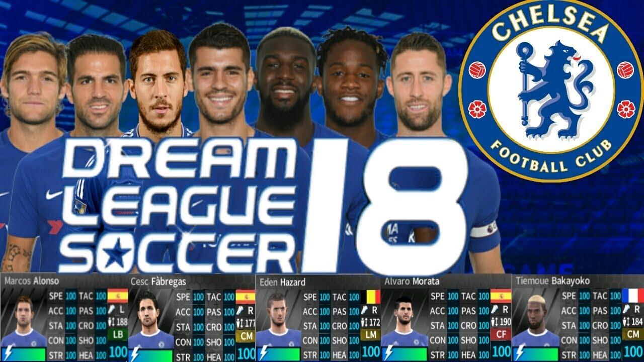 DLS 18 Chelsea Mod Apk Update Download