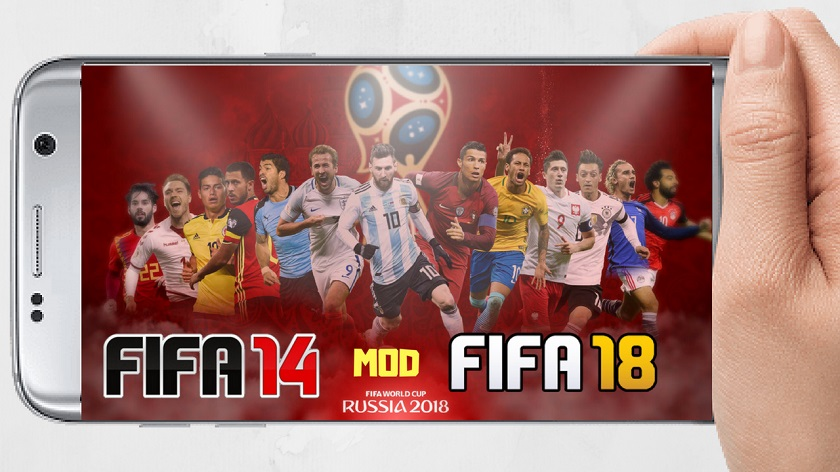 FIFA 14 Mod World Cup Russia 2018 Android Download