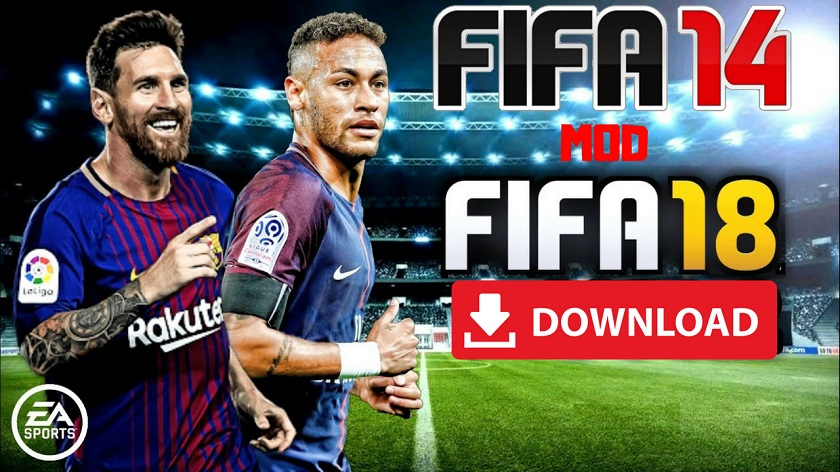 FIFA 16 Mod FIFA 18 Offline Android High Graphics Download